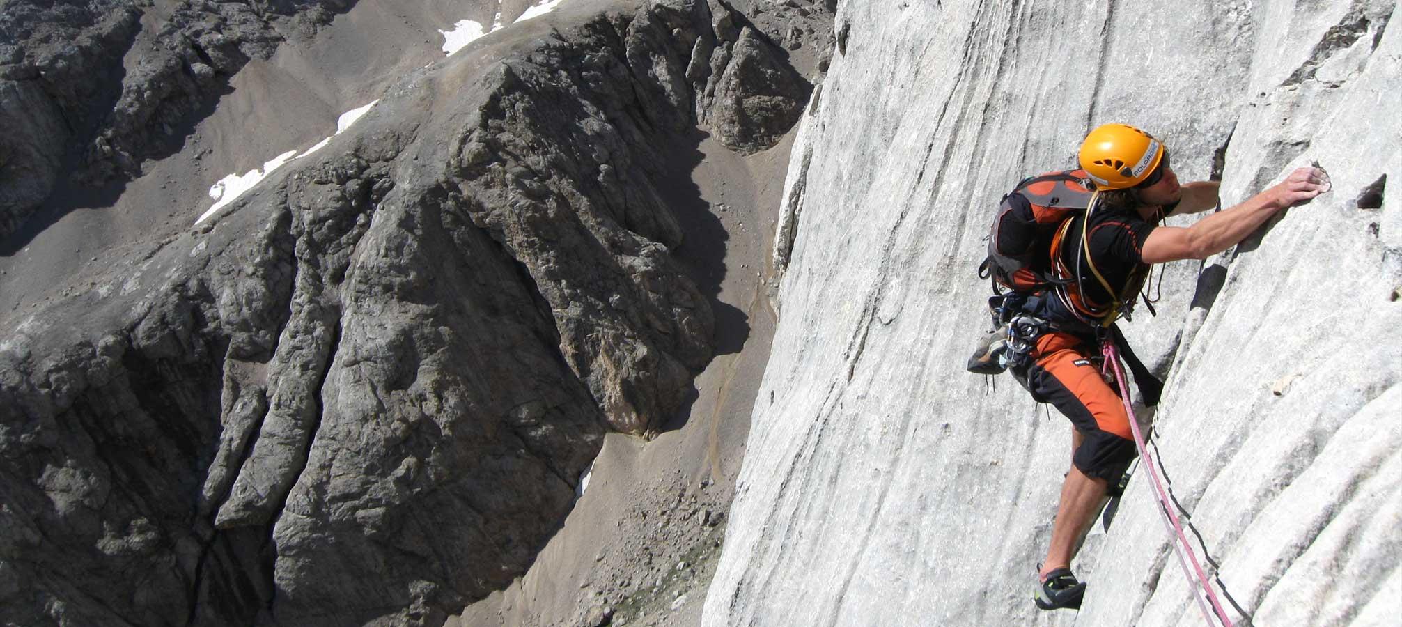 Lezecké kurzy s horským vodcom
